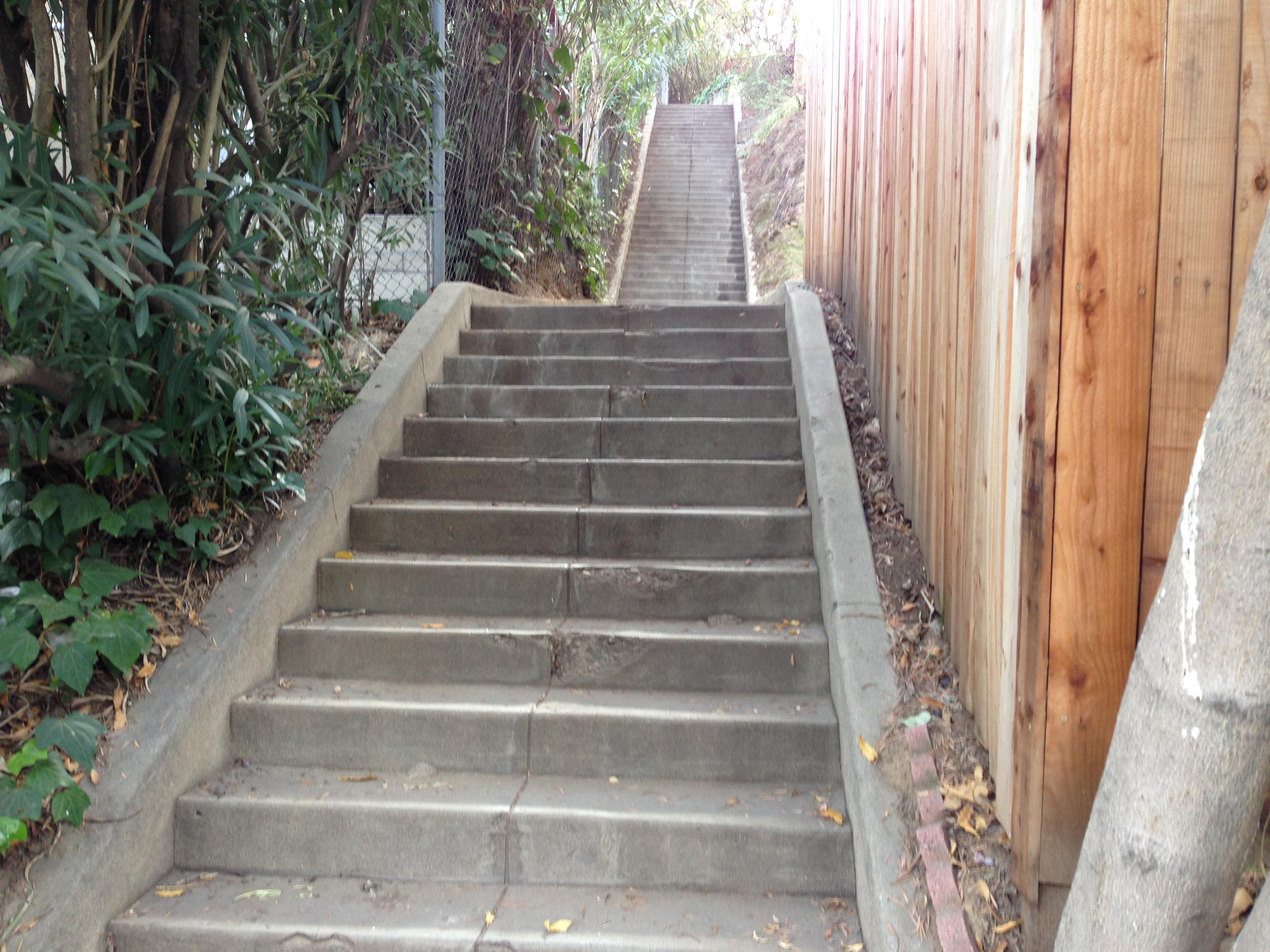 Why I stair walk