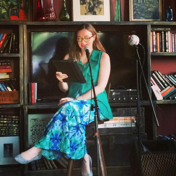Reading at Lady Jane's